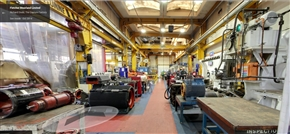 View from Google Business View of Fletcher Moorland's Workshop