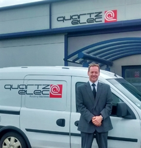 Keith Evans as the new General Manager for Quartzelec Swansea operation