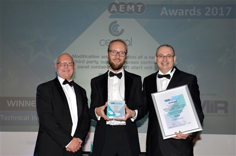 Central Recognised for Technical Innovation