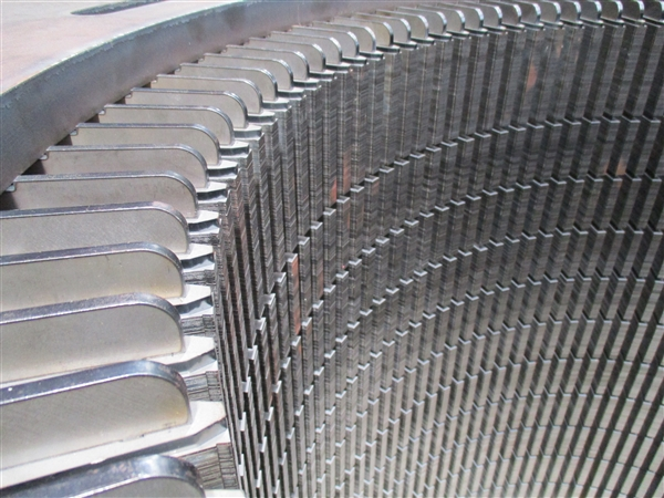 Stator stacks up to 2000mm can be manufactured and assembled with tie rods and end plates, machined