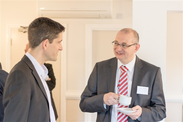 Julian Webb of Webb Electric with Steve Ashman of EMIR Software