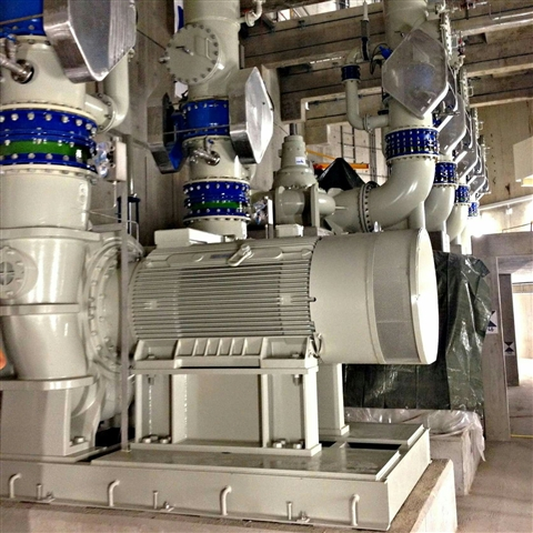 KSB Sewatec Pumps for Europe's Largest Wastewater Project at Emscher Sewer Canal Pumping Stations Ge