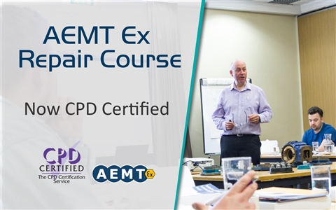 Hazardous Area (Ex) engineering training courses run around the world by the AEMT have been certifie