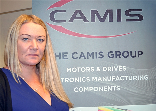Sarah Rowland, Key Account Manager for Camis Motors and Drives