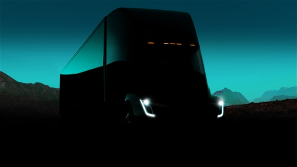 Electric truck, the Tesla Semi