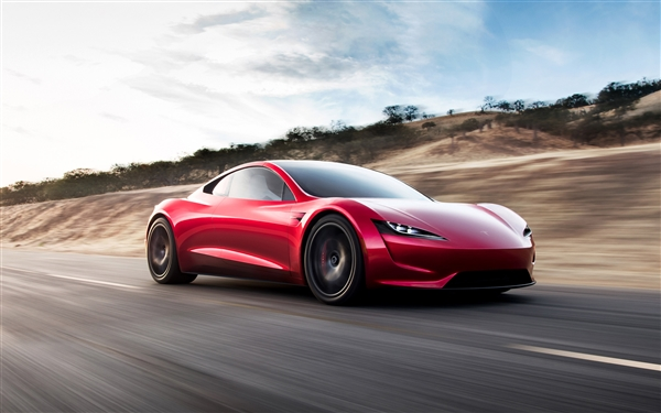 The Tesla Roadster electric car
