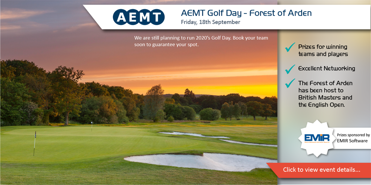AEMT Golf Day Sponsored by EMiR Software