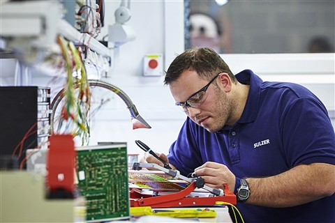 Sulzer's expertise in the design of electronic components improves reliability for customers